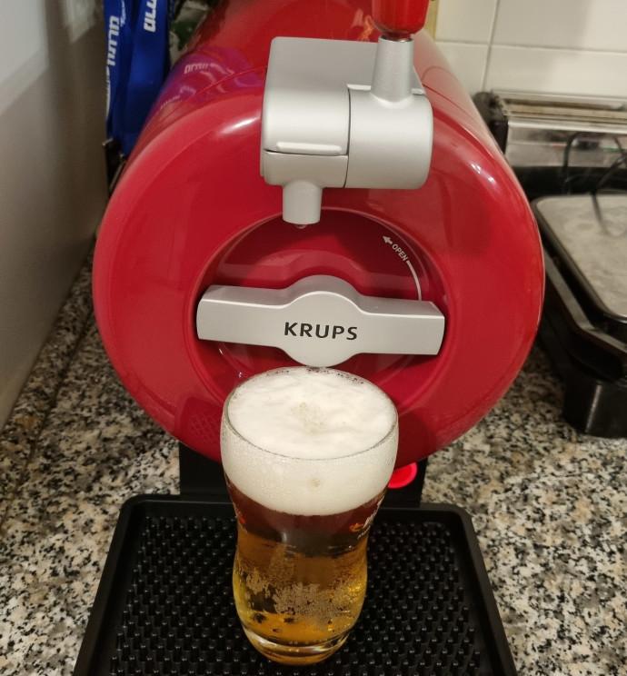 מתקן ביתי למזיגת בירה