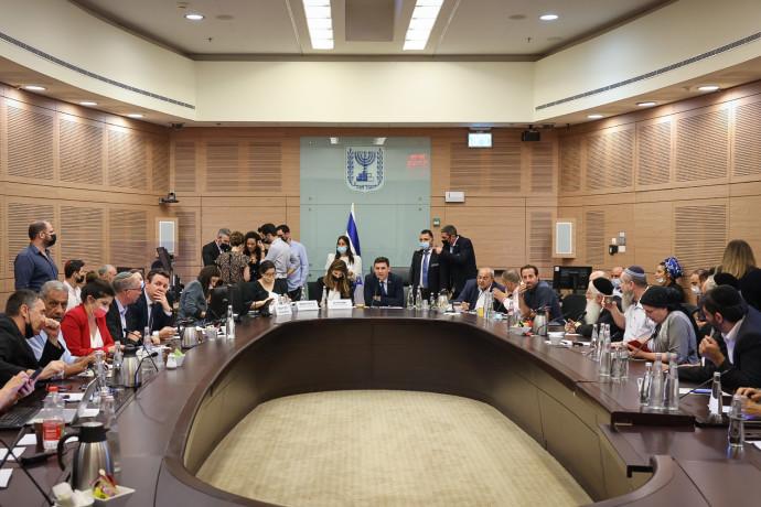 כינוס הוועדה המסדרת של הכנסת ה-24