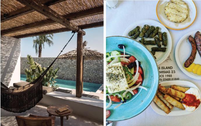 אוכל משובח, ים וחופש. קוס יוון