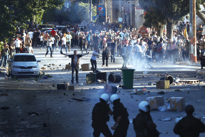 הפגנות בגדה המערבית