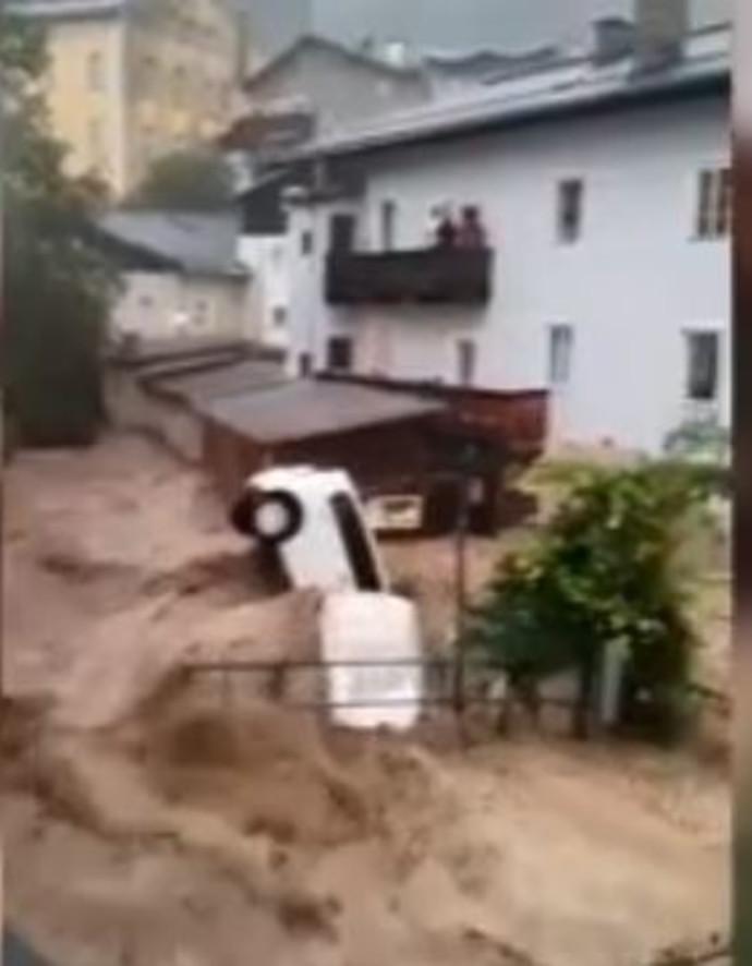 הצפות באוסטריה