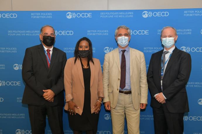 שרת העלייה והקליטה פנינה תמנו שטה בארגון ה-OECD בפריז