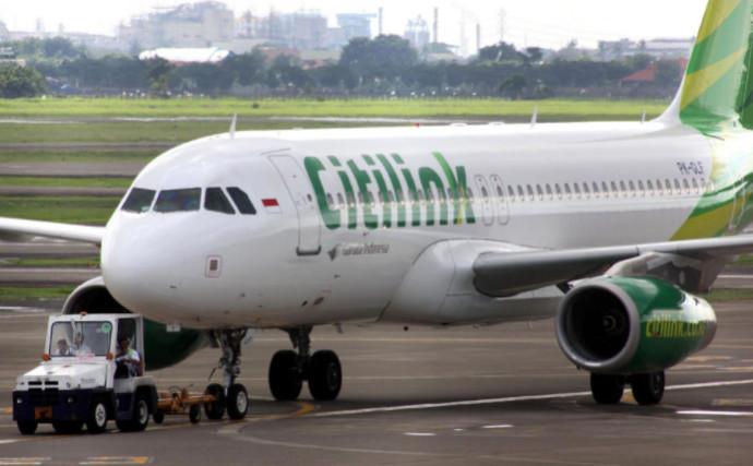 מטוס של חברת התעופה באינדונזיה