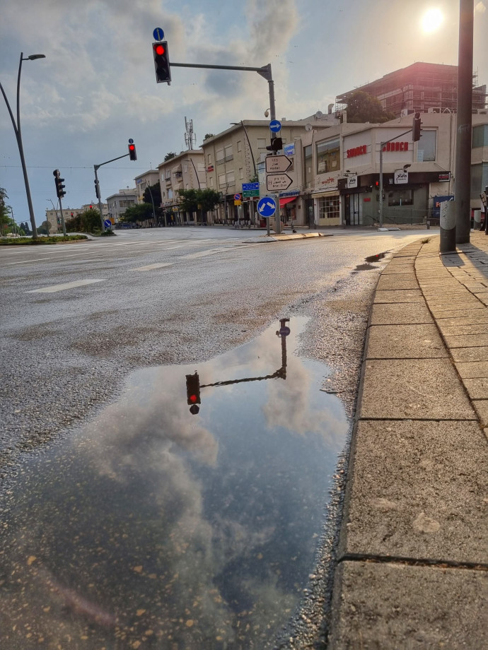 אחרי הגשם בחיפה