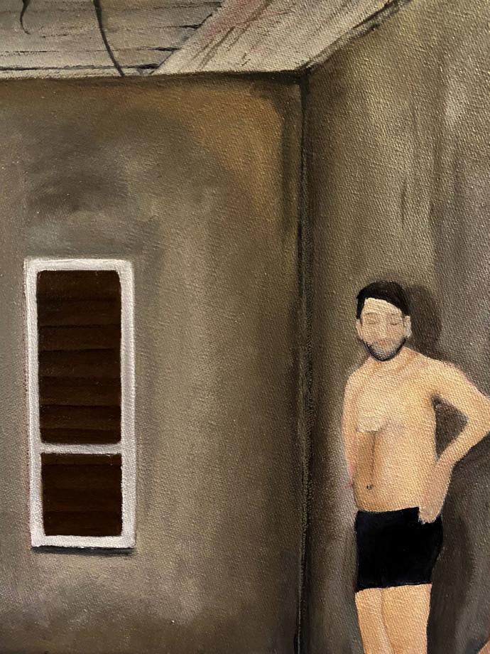 """""""אלה שלא ישכחו לעולם"""". ציור: עפרי סלע"""