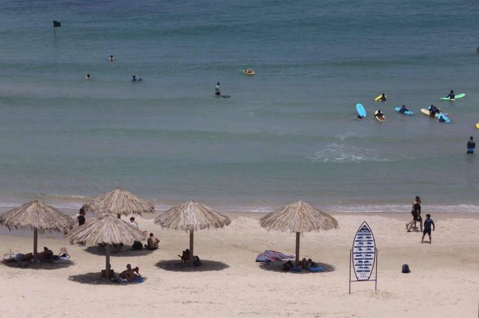 חוף הים, קיץ
