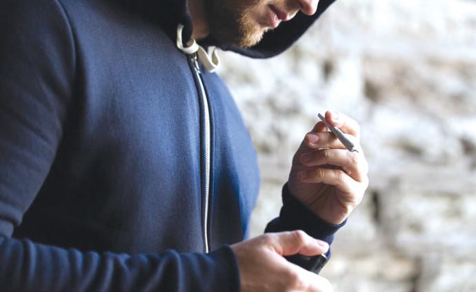 התמכרות משתמש בסמים, אילוסטרציה