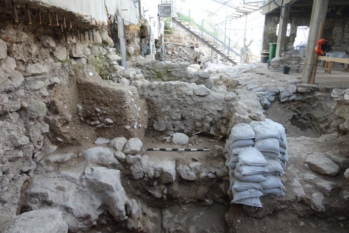 שטח החפירה בעיר דוד