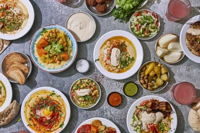 ארוחת טעימות של חומוס יוסף