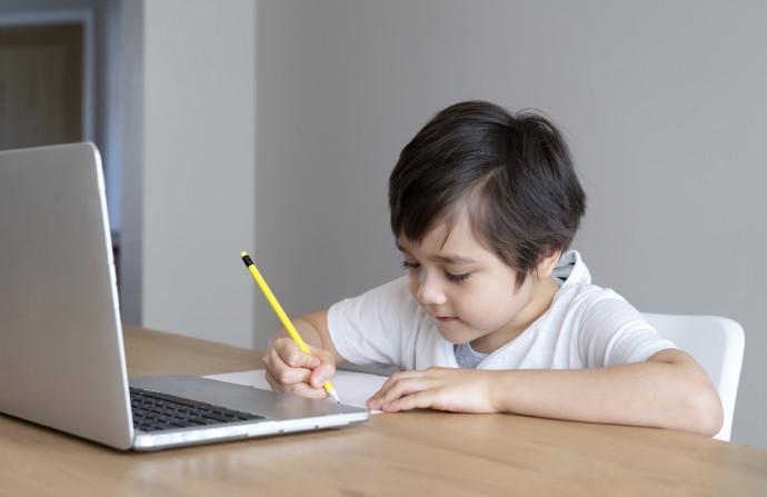 למידה בעזרת מחשב נייד, אילוסטרציה (למצולם אין קשר לנאמר בכתבה)