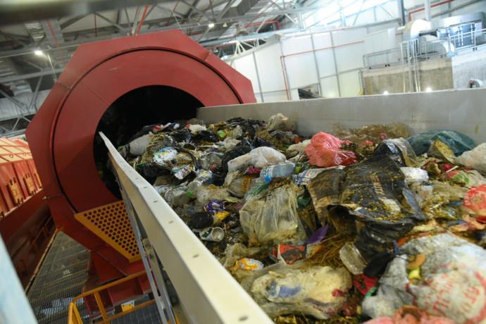 מפעל מיון פסולת בדודאים