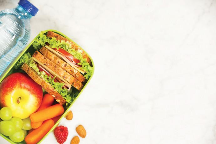קופסת אוכל לבית הספר (אילוסטרציה)