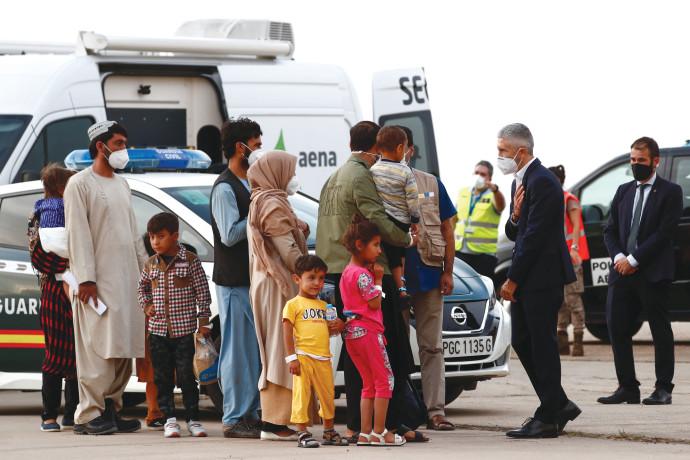 פליטים מאפגניסטן