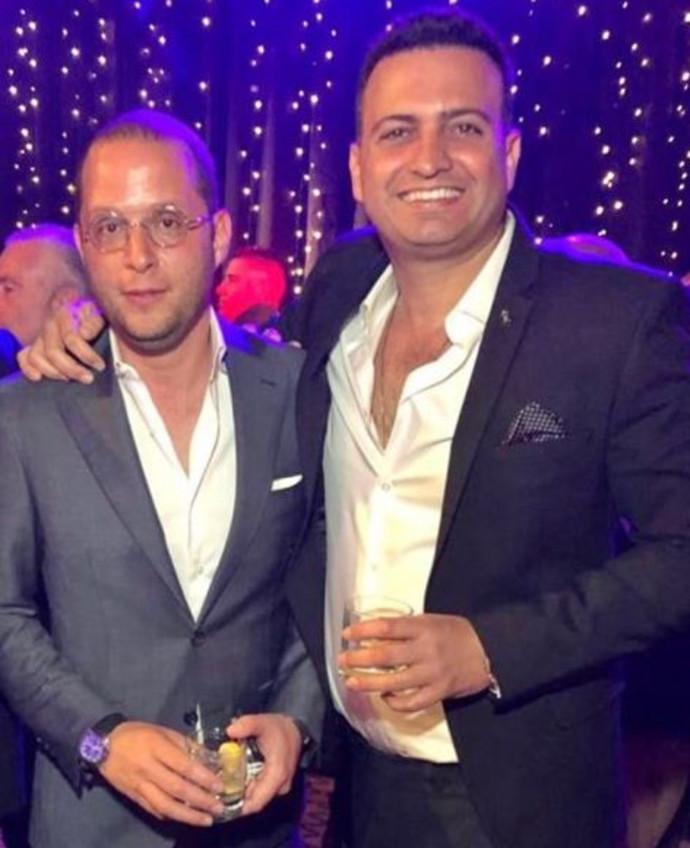 רותם רוזן (משמאל) וצחי חג'ג'
