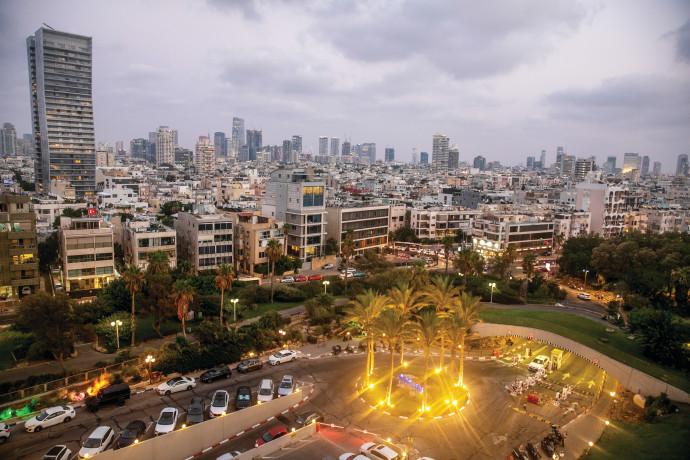 בנייני דירות בתל אביב