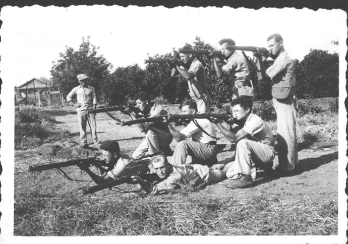 אימונים בנהלל 1936
