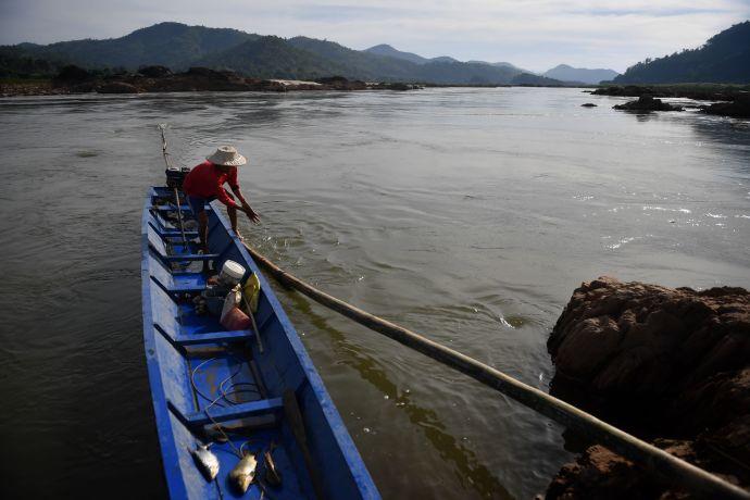 שיט בנהר בתאילנד, אילוסטרציה