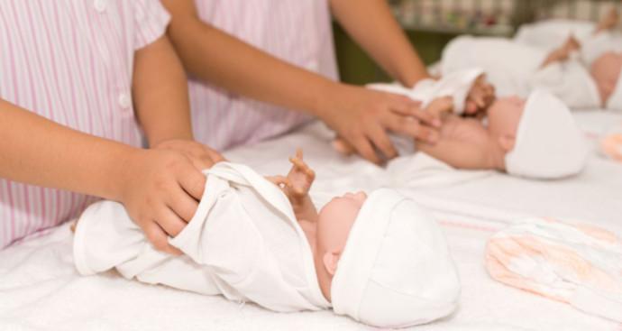 תינוקת הוחלפה בלידתה, אילוסטרציה