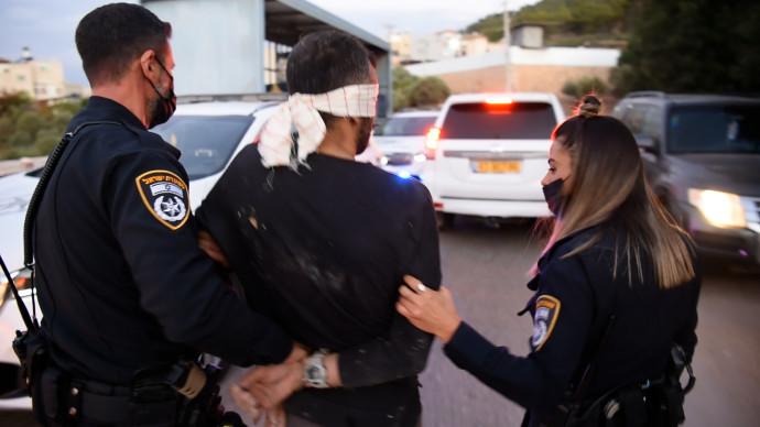מעצר אחד האסירים הנמלטים