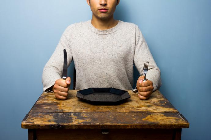 ארוחה מפסקת (אילוסטרציה)