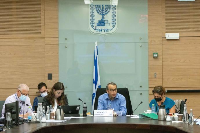 דיון בוועדת החוקה בראשות גלעד קריב