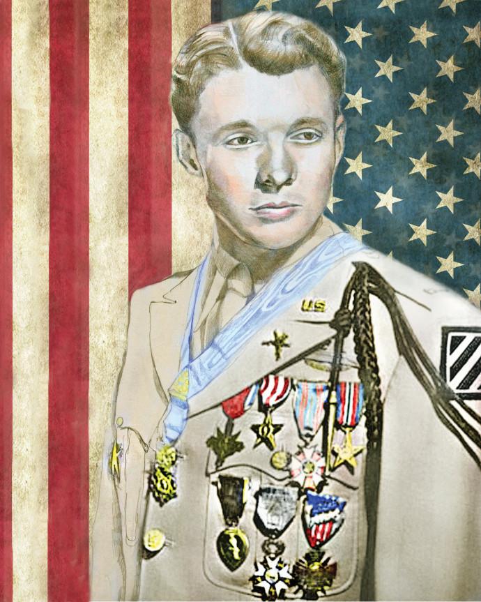 החייל המעוטר ביותר במלחמת העולם השניה, אודי מרפי
