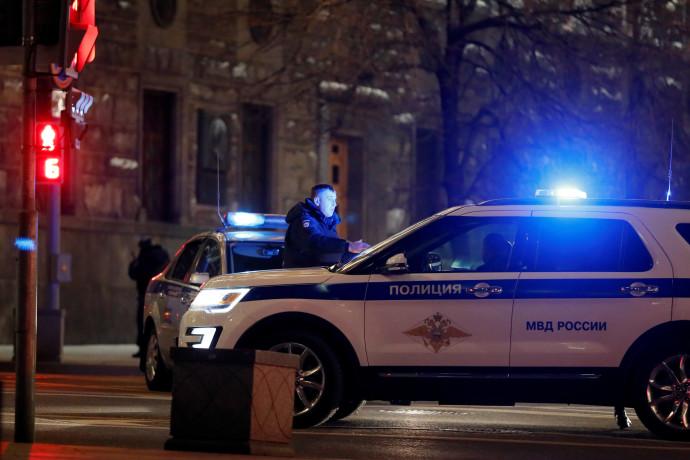 ניידת משטרה ברוסיה (אילוסטרציה)