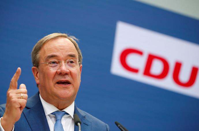 מנהיג האיחוד הנוצרי-דמוקרטי (CDU) בגרמניה, ארמין לאשט