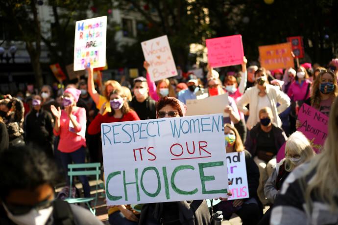 מחאה נגד האיסור על הפלות בטקסס