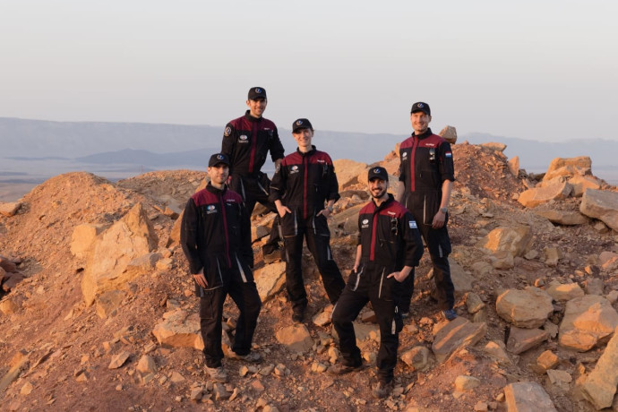 הדמיית מאדים במצפה רמון