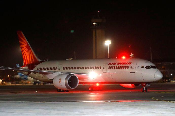 מטוס של חברת אייר אינדיה, אילוסטרציה