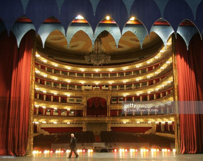 תאטרון הבולשוי במוסקבה, אילוסטרציה