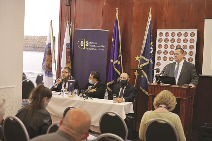 כנס מנהיגי יהדות אירופה בבריסל