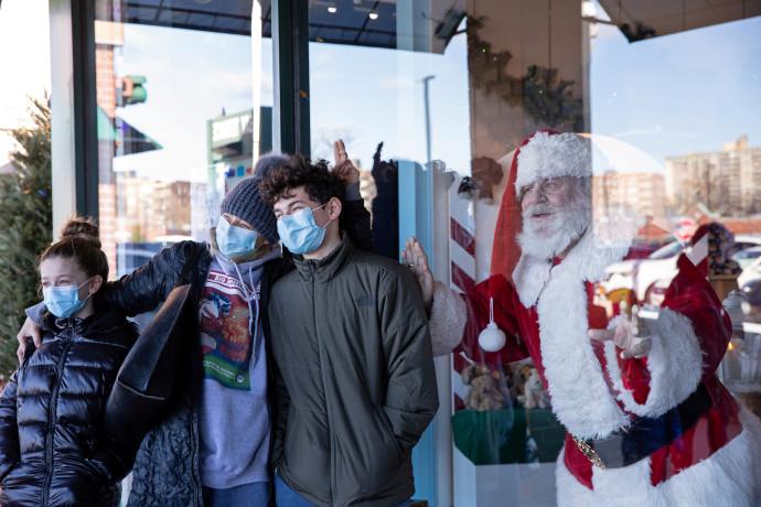 המגיפה הרחיקה את סנטה קלאוס מהאזרחים