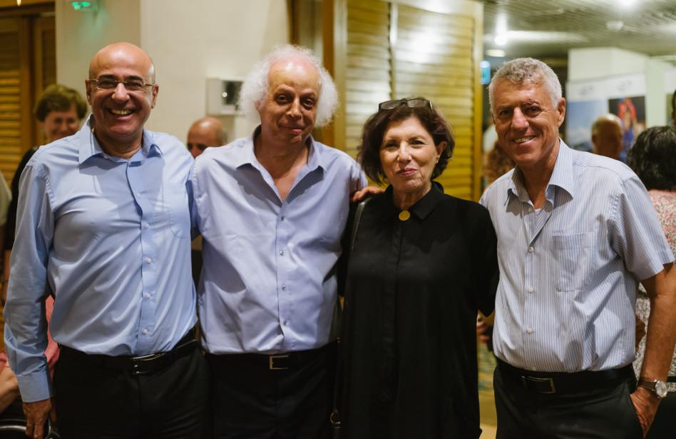 קותי מרידיאן, בילי שפירא, דני בן אבו ואיציק לארי (צילום: דור קדמי)