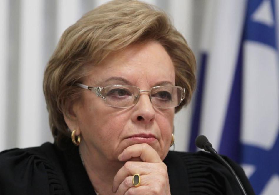 דורית בייניש (צילום: אלכס קולומויסקי, פלאש 90)