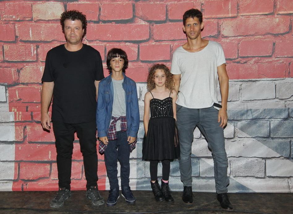 הדור הבא. רני ועמי וייס, ויולי ודוד רז