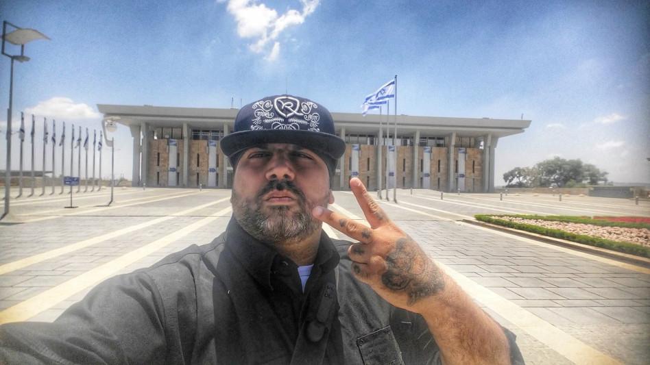 """יואב אליאסי """"הצל"""" (צילום: פייסבוק)"""