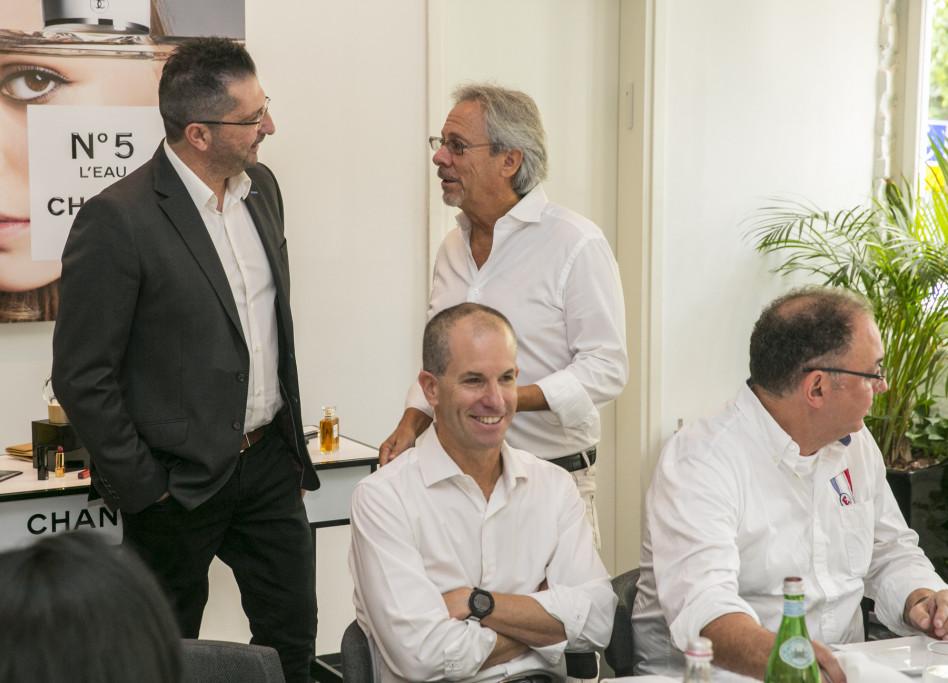 לאון קופלר, רונן שמיר, דני לוזון וניצן לביא (צילום: לנס הפקות)