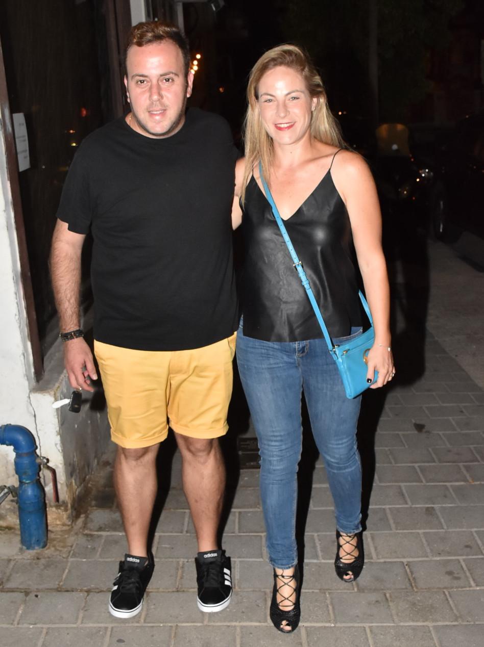 היוש ניקי. גולדשטיין ואשתו