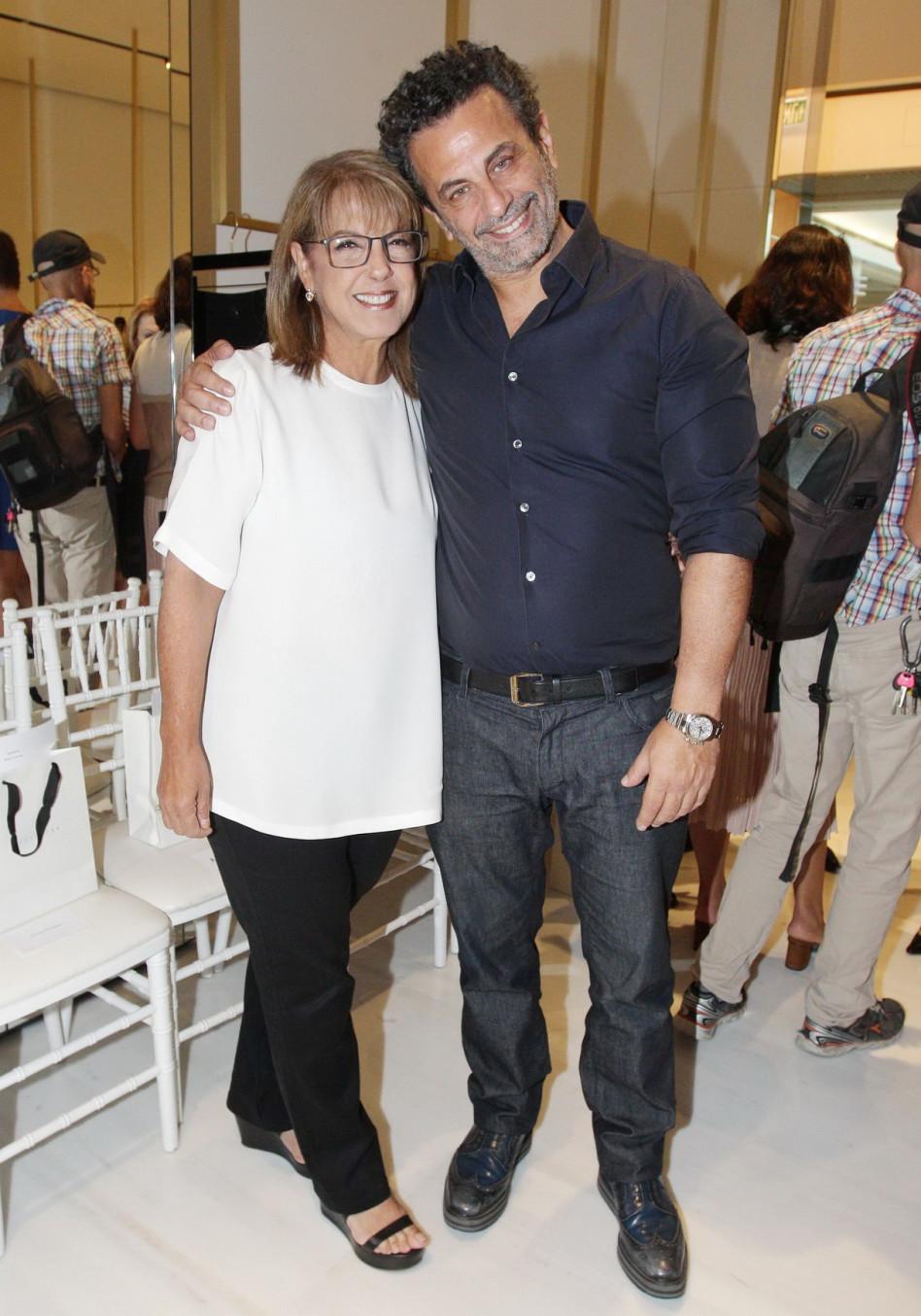 רוני אירני וליאורה עופר (צילום: אביב חופי)