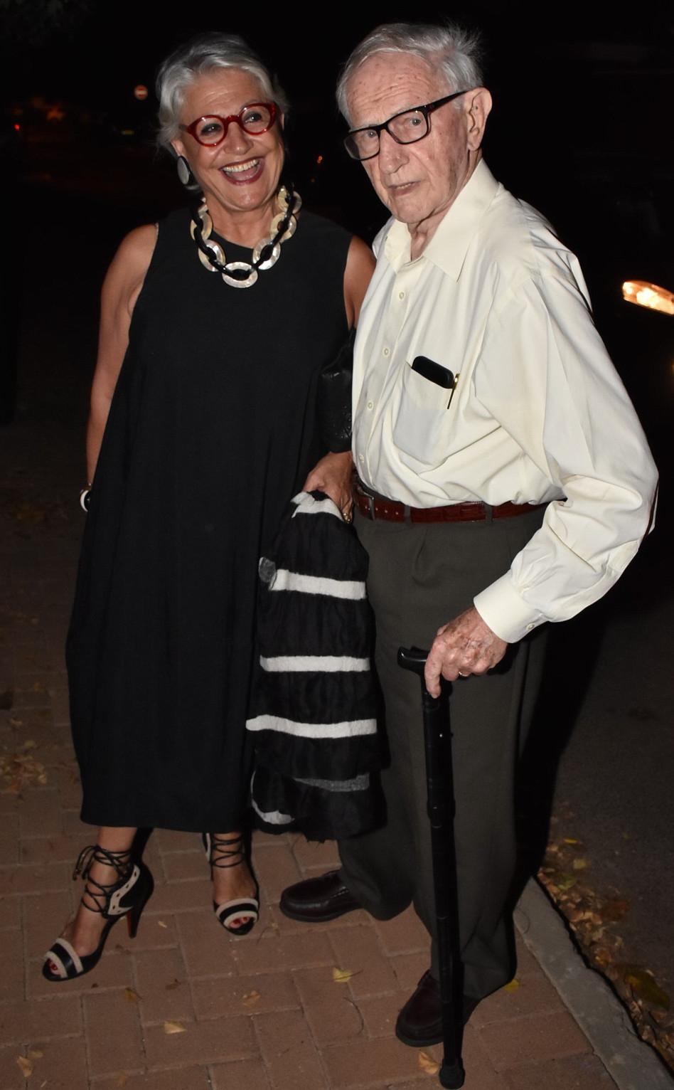 מיכאל ושרה סלע (צילום: אביב חופי)