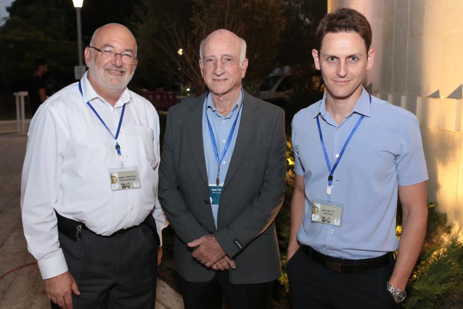 ערן אדן, אלי אופיר וגוידו פרדו רוקואס (צילום: כתום צלמים)
