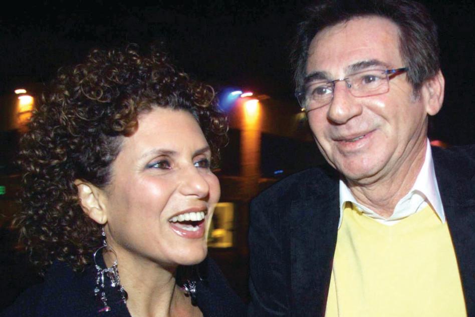 מוטי גלעד ואסנת וישנסקי (צילום: אמיר מאירי)