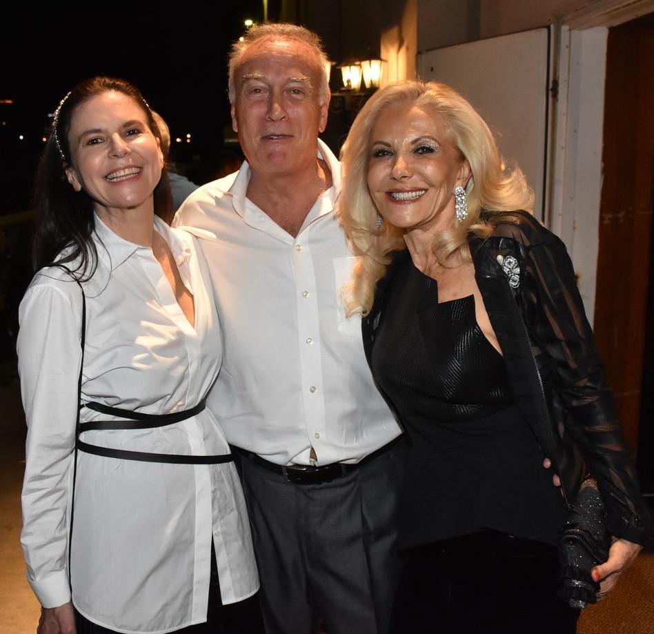 יהודית ואבי טיומקין עם עפרה שטראוס