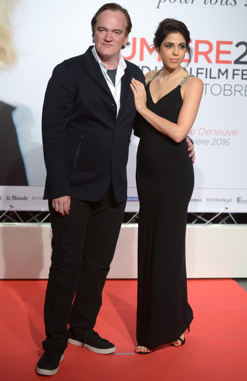 דניאלה פיק וקוונטין טרנטינו (צילום: גטי)