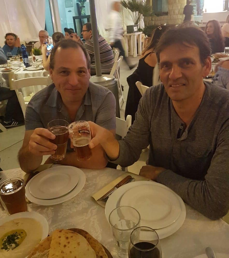 אמיר הלוי ויריב המאירי (צילום: אוצרות הגליל)