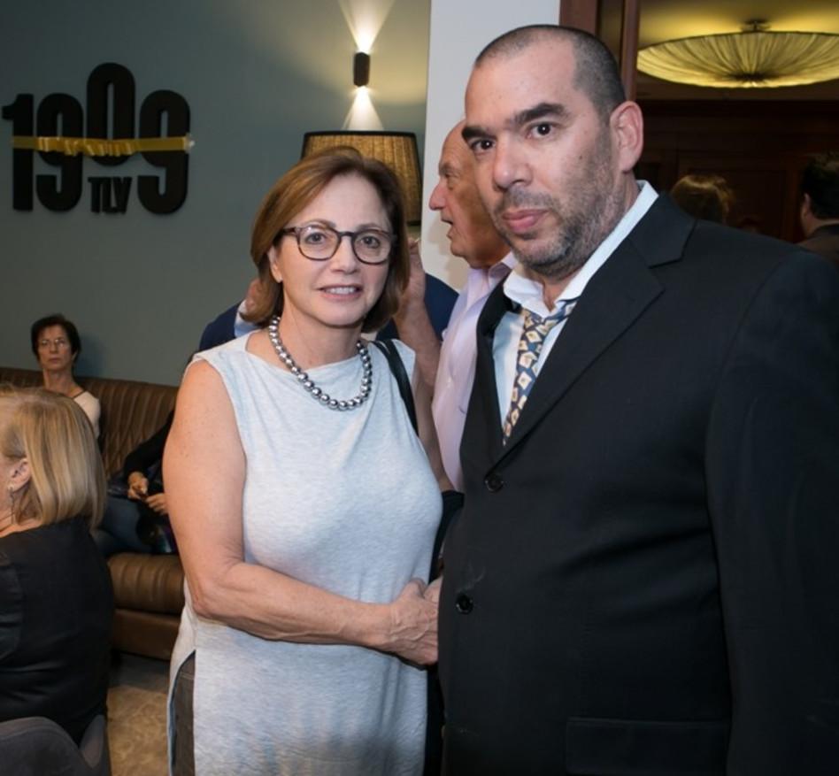 נבו כהן ויהודית יובל רקנאטי (צילום: גדי אוהד)