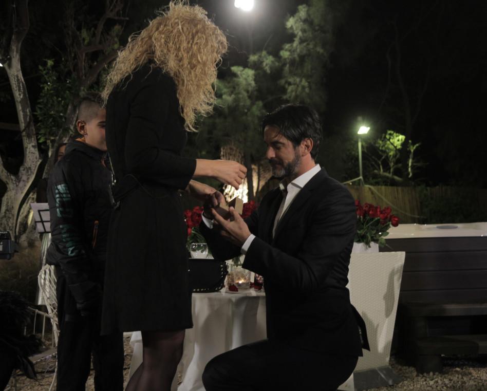 הצעת הנישואים (צילום: ערן כהן)