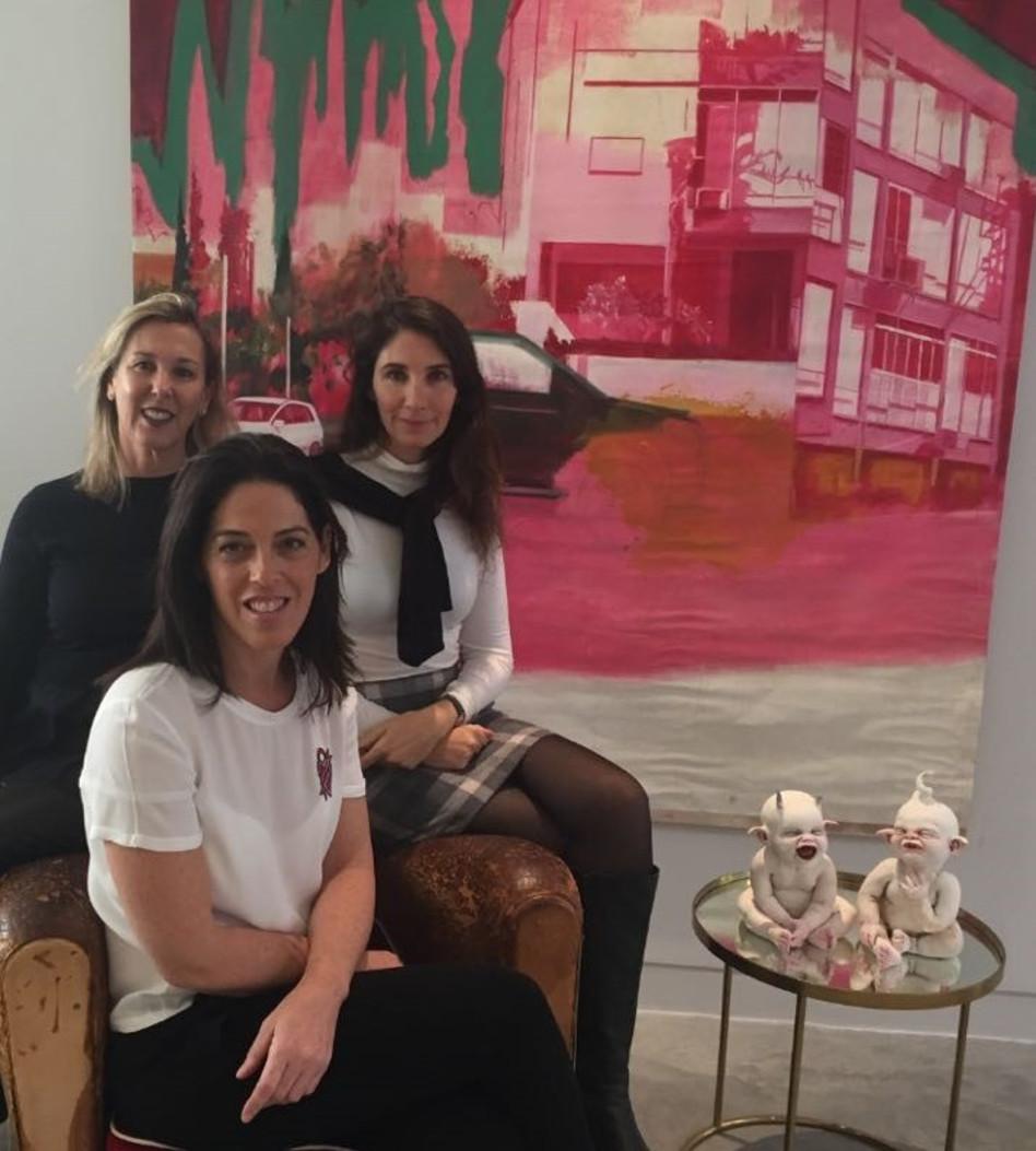 קרן בר-גיל, אילנה ויגרצין ושרון פודרויסקי